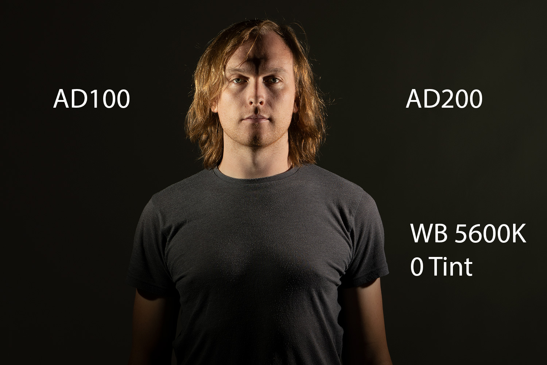 godox ad100 portrait